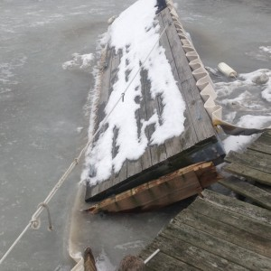 ice damages docks