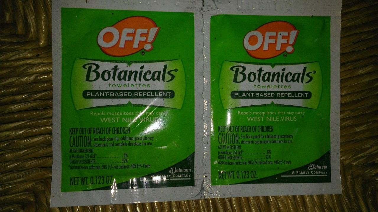 Off Botanicals natural insect repellent