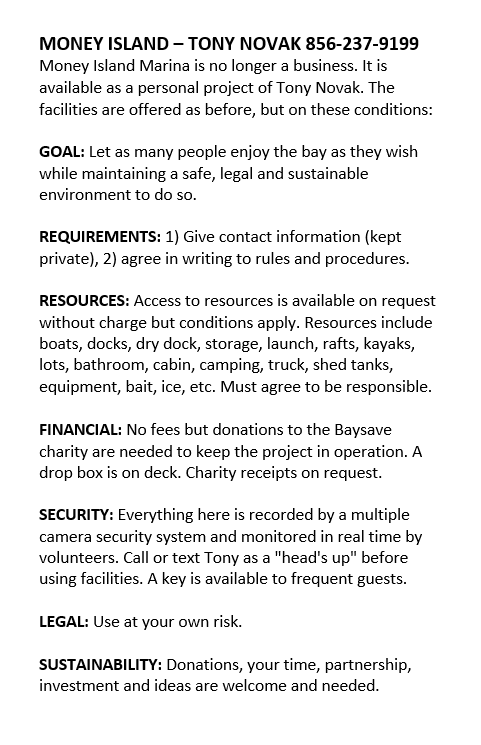 2020 marina rules